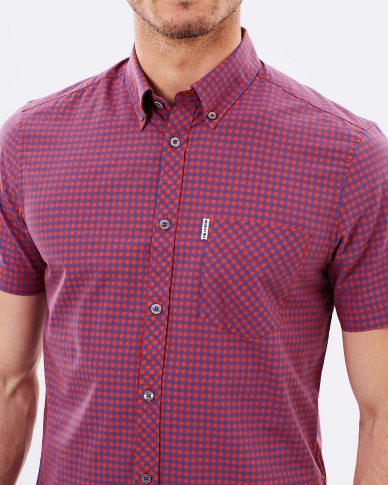 Ben Sherman SS Gingham Shirt