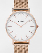 La Boheme Mesh watch from Cluse