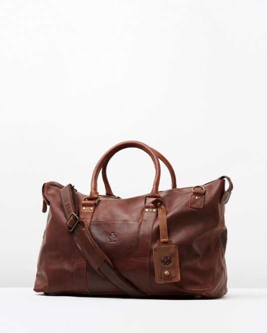 Lyle and Scott Vintage Leather Holdall
