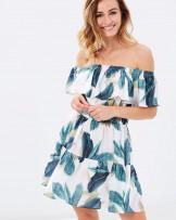Avalon Off-the-Shoulder Dress