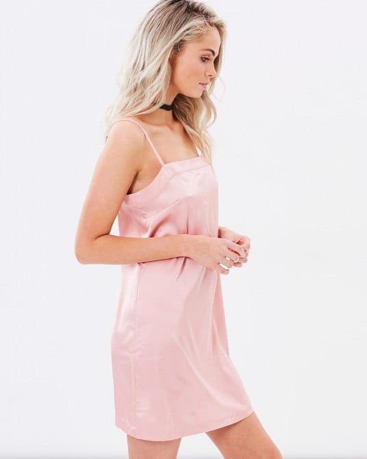 Zodiac Satin Slip Dress